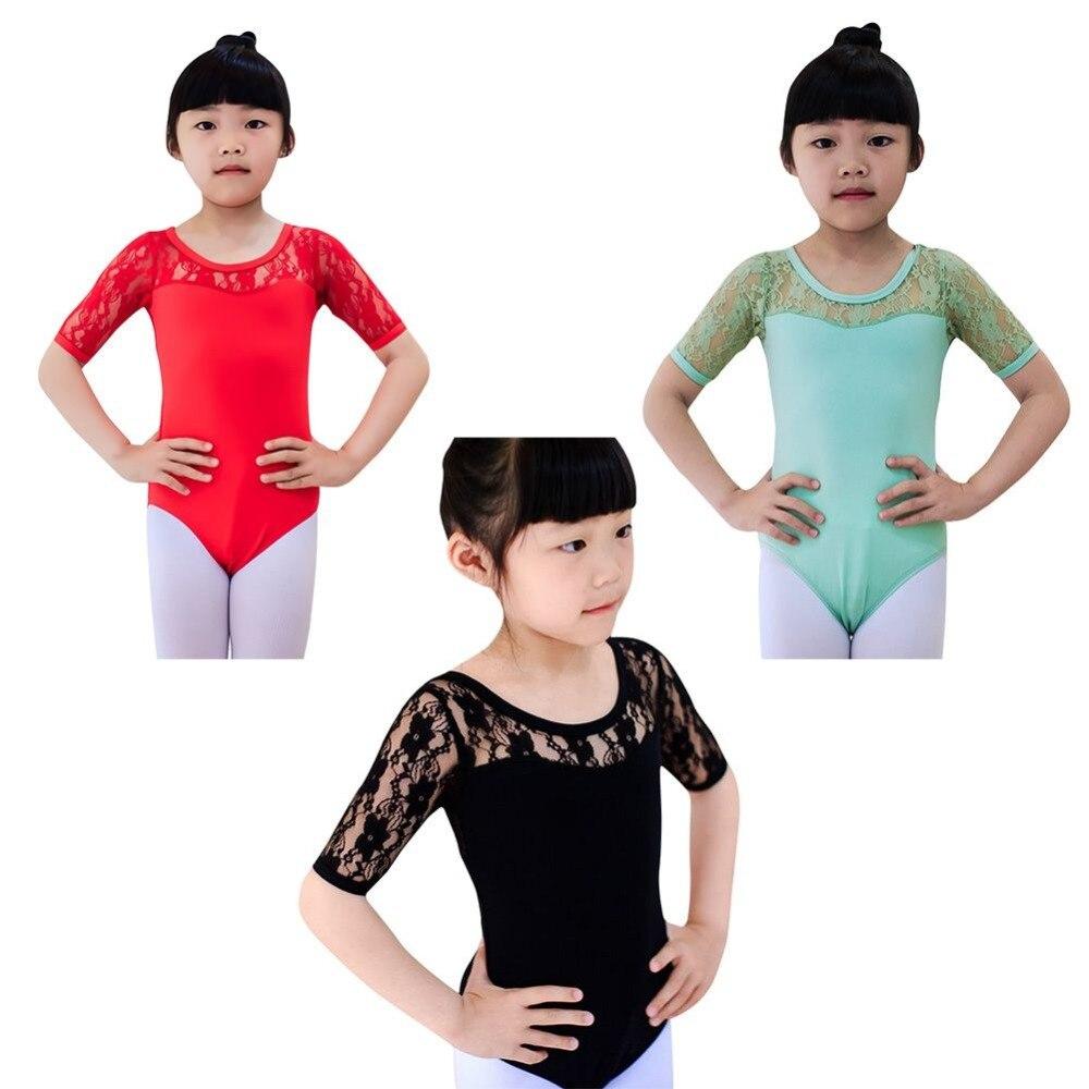 Toddler Girls Dance Leotards Dress Acrobatics for Kids Dance Gymnastics Leotards Wear Dress Long Sleeves Athletic