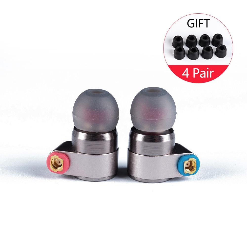 Auricular intrauditivo M2 Tin Audio T2 con controlador doble dinámico, auricular HIFI de bajos, auricular DJ para V90 V80 ZST AS10 CCA C10