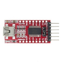 Cable de descarga de 10 Uds FT232RL FT232 USB a TTL 5V 3,3 V para Módulo adaptador a serie para USB a 232