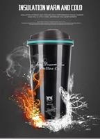 500ml thermos mug coffee cup with lid thermocup seal stainless steel vacuum flasks thermoses thermo mug for car my water bottle