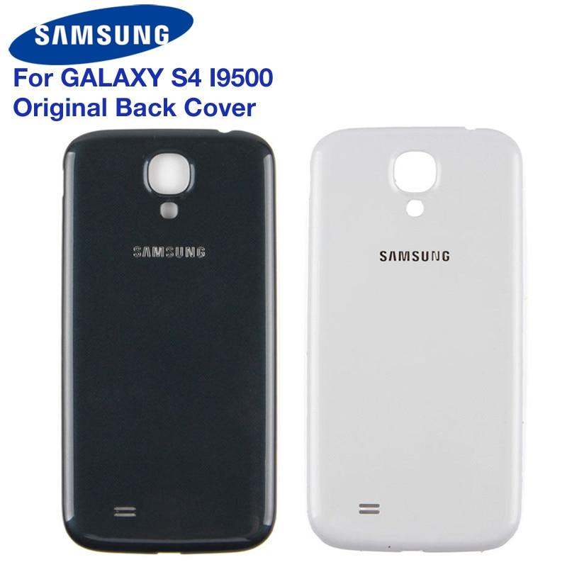 Samsung Original Back Battery Door Plastic Cover For Samsung Galaxy S4 S4mini I9502 GT-I9505 i9190 i9192 Rear Housing Back Cover