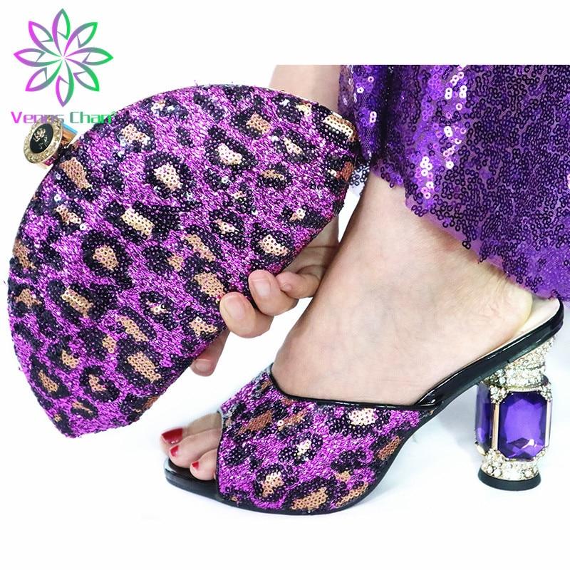 الأزرق عالية الجودة امرأة فاخرة حذاء من الكريستال و محفظة مجموعة للحزب الأفريقي حجر الراين عالية الكعب أحذية الزفاف وحقيبة