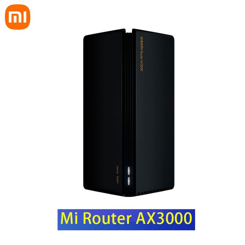 Беспроводной маршрутизатор Xiaomi AX3000 Wi-Fi 6 2,4 ГГц, полный гигабитный маршрутизатор OFDMA VPN Mesh 3000 Мбит/с, ретранслятор, усилитель сигнала PPPOE