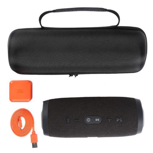 Fashion Storage Bag For JBL Charge 3 FLIP4 Hard Carrying Case Cover For JBL FLIP 4 Charge3 Wireless Bluetooth Speaker Case Bag