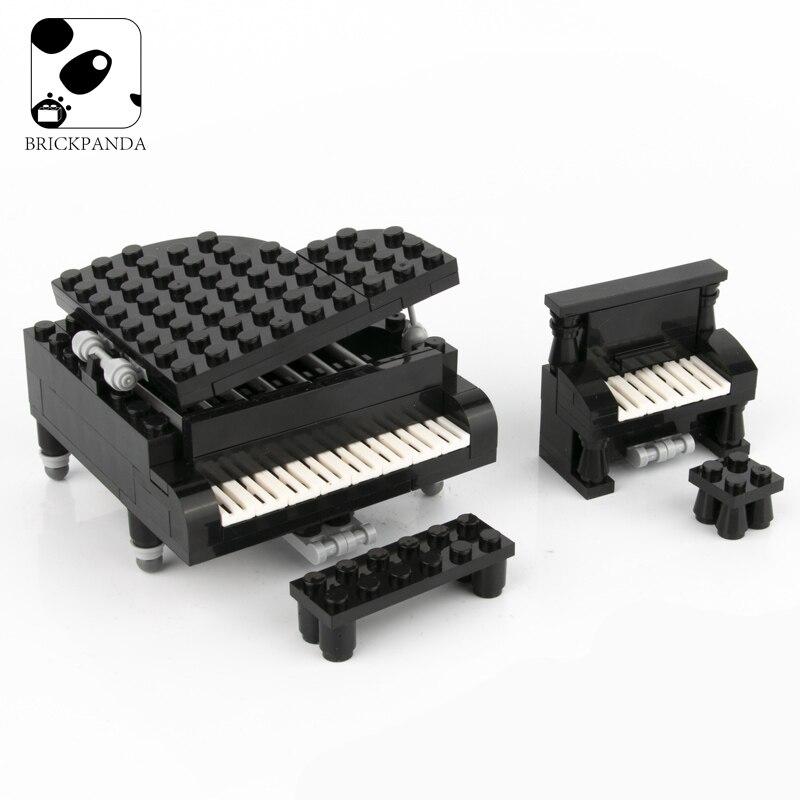 Construcción del Piano clásico para niños, piezas de bloques de construcción, modelo...
