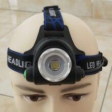 XM-L2 U3 Led phare Zoom réglable phare lampe de poche torche étanche lampe frontale ampoules rechargeables 18650 batterie