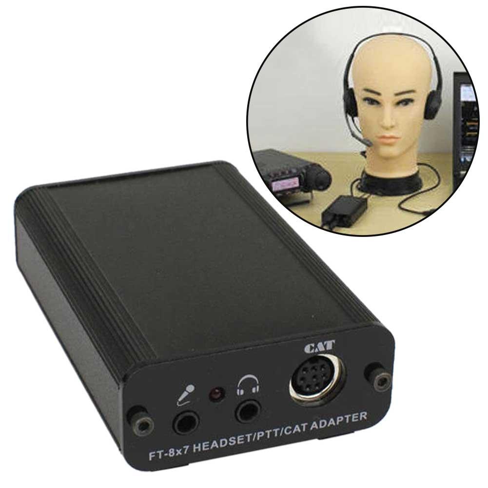 YAESU FT-818ND FT-857 FT-891 مكتب PTT الهاتف القط محول متعددة الوظائف المهنية المنزل سماعة ميكروفون للكمبيوتر