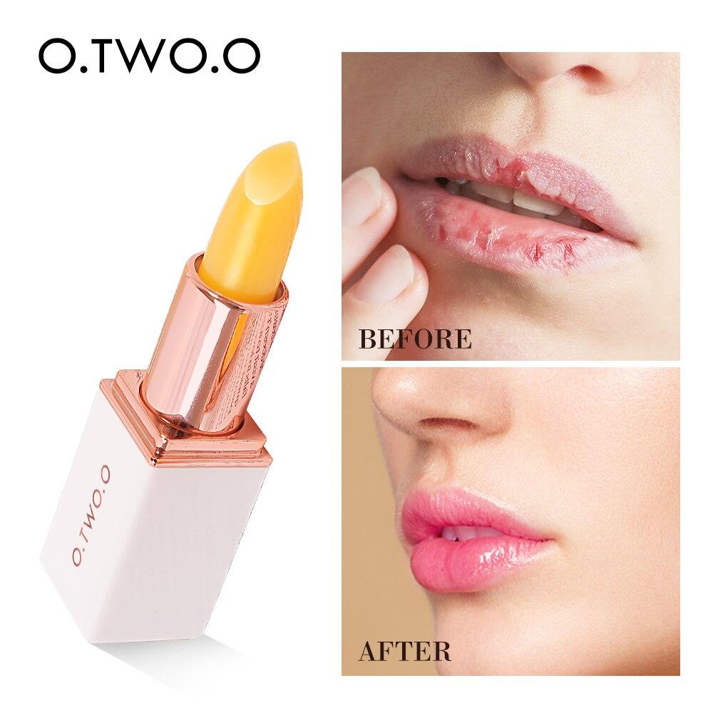 O.TWO.O цвета постоянно меняющийся бальзам для губ помада длительная гигиеническая Увлажняющая помада антивозрастной Ма