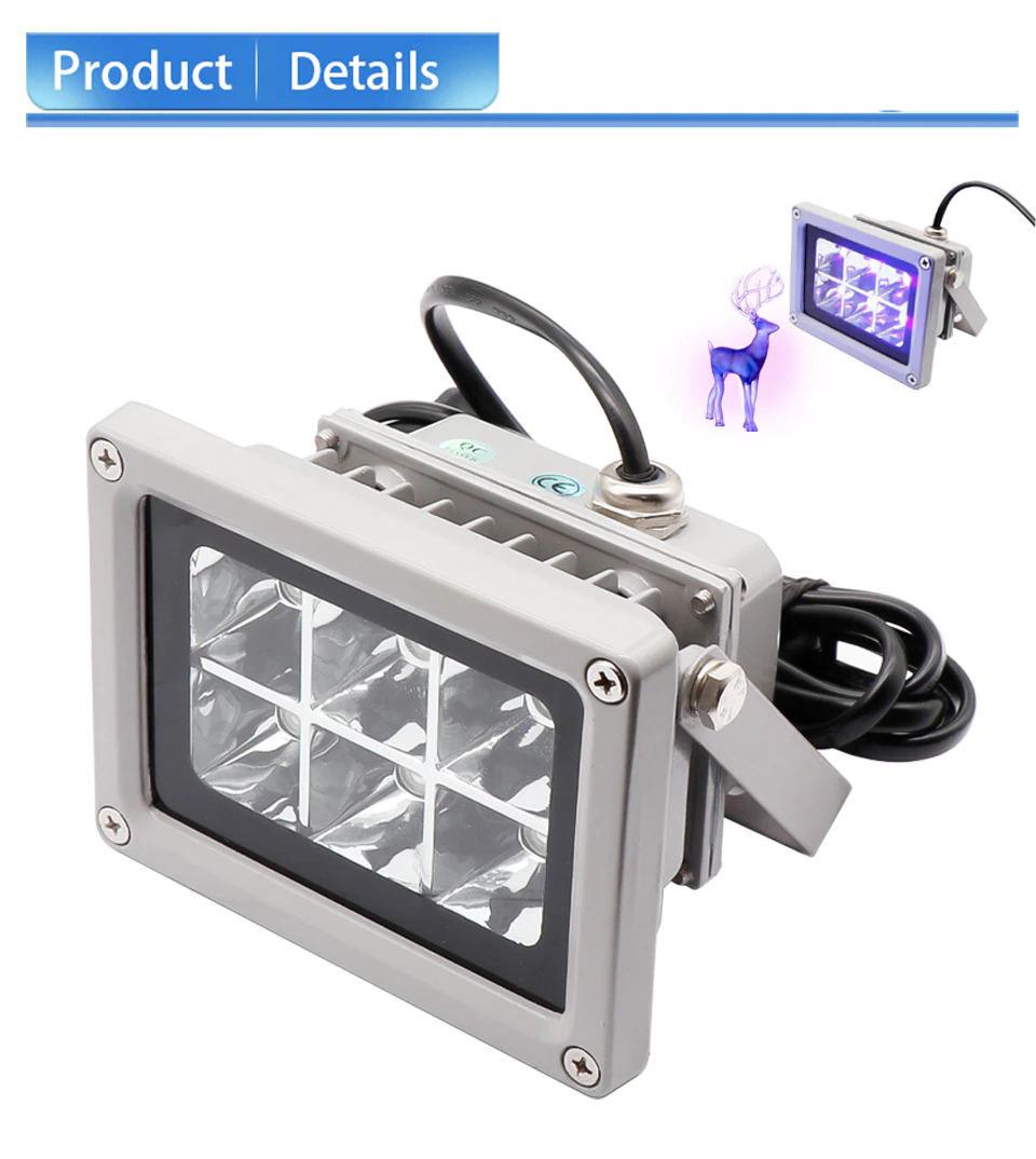 عالية الجودة الأشعة فوق البنفسجية LED الراتنج مصباح علاجي 40nm 110-260 فولت ل Anycubic الفوتون LD 002H SLA DLP ثلاثية الأبعاد طابعة حساس للضوء