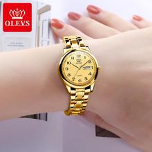 OLEVS Luxury Brand Women's Watches Waterproof Stainless Steel Ladies Watch Casual Dress Quartz Wrist
