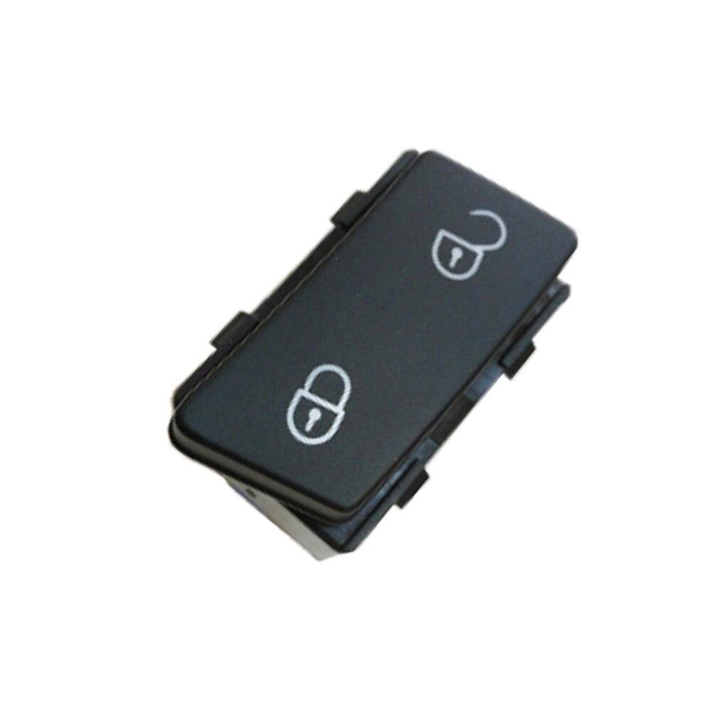 Botón interruptor de desbloqueo para cerradura de puerta Central lateral para VW Caddy Touran 2003 2004 2005 2006 2007 2008 2009 2010 2011 +