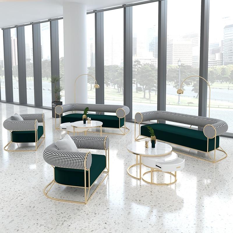 Индивидуальные офисные кресла в скандинавском стиле, односпальные кофейные диваны, комбинированные кофейные стулья для балкона, простые д...