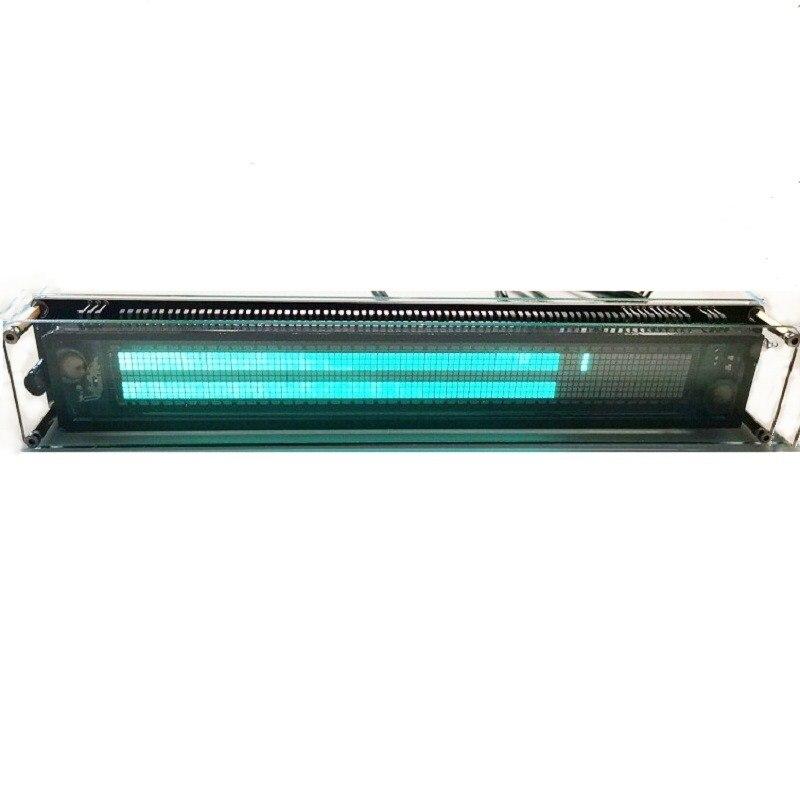 LINK1 9608-J VFD reloj de música medidor de Audio y vvfd espectro de Audio CNC de una sola pieza de moldeo de aluminio shellt velocidad de luz ajustable con AGC