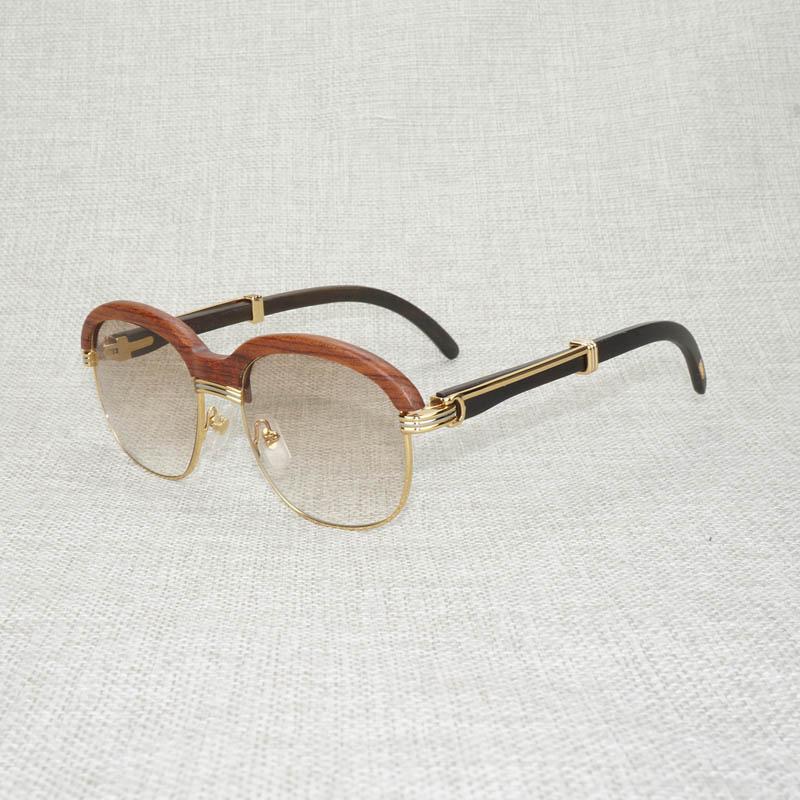 نظارات شمسية مستديرة عتيقة للرجال والنساء ، نظارات شمسية خشبية عتيقة ، بنمط ملفوف ، مناسبة للاستخدام في الهواء الطلق