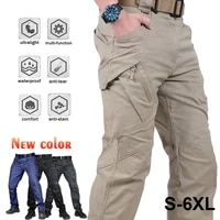 city tactical cargo pants classic outdoor hiking trekking army tactical joggers pant camouflage military multi pocket trousers