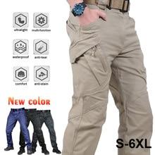 עיר טקטי מכנסיים מטען חיצוני טיולים טרקים צבא טקטי רצים מכנסיים הסוואה צבאי רב כיס מכנסיים