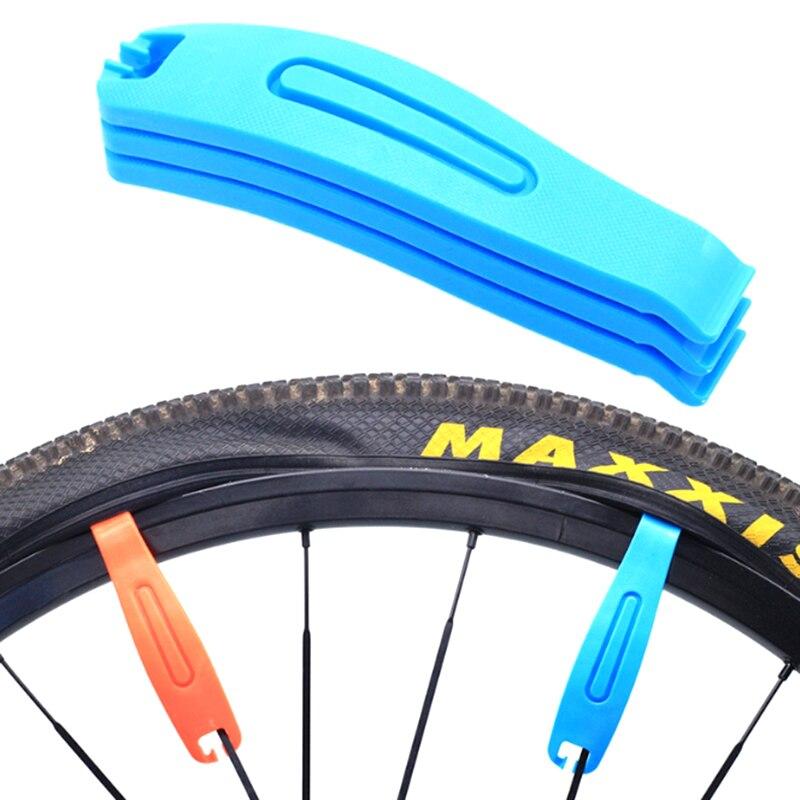 3 piezas herramienta de reparación de neumáticos de bicicleta de montaña neumático cuchara tubo Cambio de palancas herramientas de bicicleta portátil ciclismo accesorios