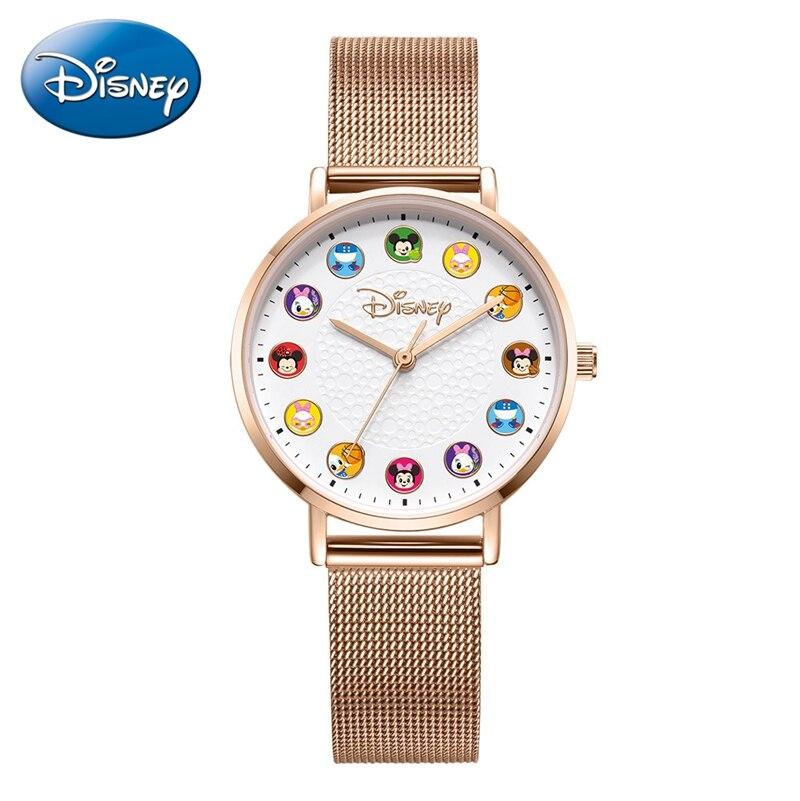 Mädchen Prinzessin Schöne Uhr Edelstahl Wasserdicht Dame Armbanduhr Kind Cartoon Zeit Kindheit Freund Süße Erinnerung Uhr