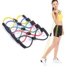 Accueil Sport Fitness Yoga 8 forme tirer corde Tube équipement Fitness ceinture outil gymnastique exercice envoyer au hasard