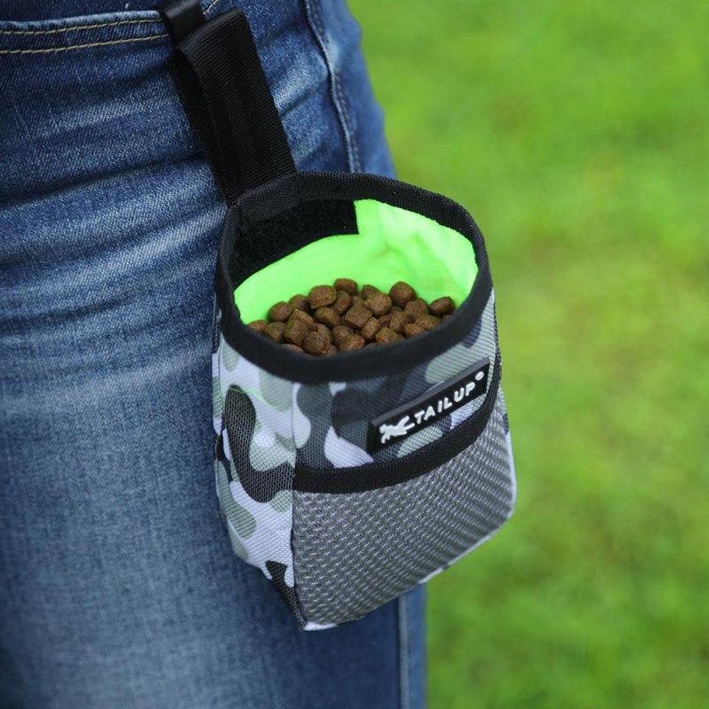 Pet Hands Free тренировочная поясная сумка для собак кормов сумка на шнурке переносит собак шаблон Угощение для собак Водонепроницаемая тканевая сумка