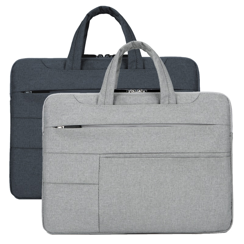 13-15 inch Laptop Tote Portable Fashion Solid Oxford Cloth Waterproof Men's Handbag Universal Carry Case Laptop Bag Briefcases