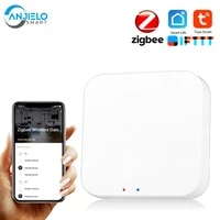 Maison intelligente Tuya Zigbee Passerelle Passerelle Zigbee Moyeu Telecommande Zigbee Appareils Via Smart Life APPLICATION Fonctionne avec Alexa Google Home