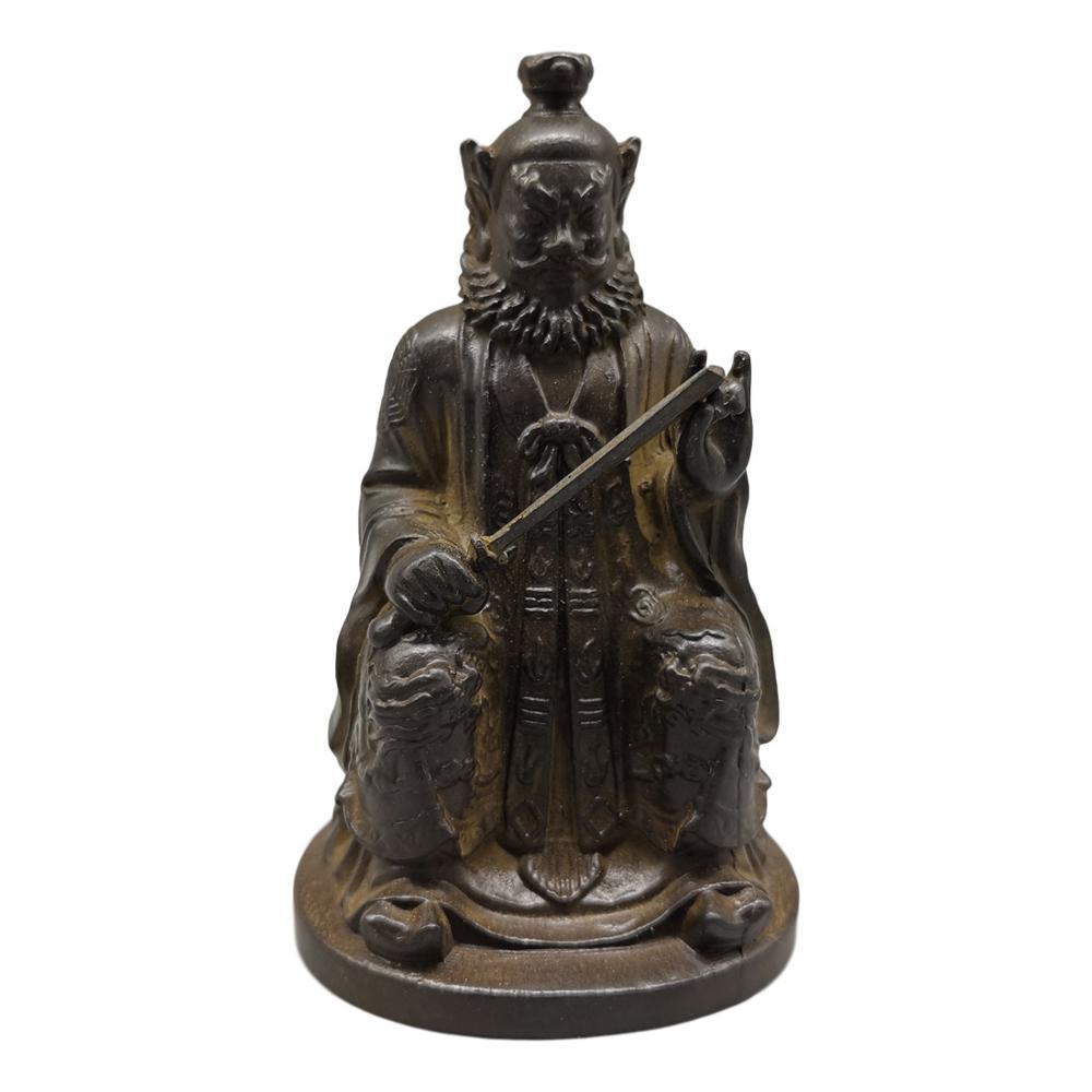 LaoJunLu статуя Чжан Тяньши имитация старинной бронзы шедевр коллекция одиночных китайских ювелирных изделий в традиционном стиле