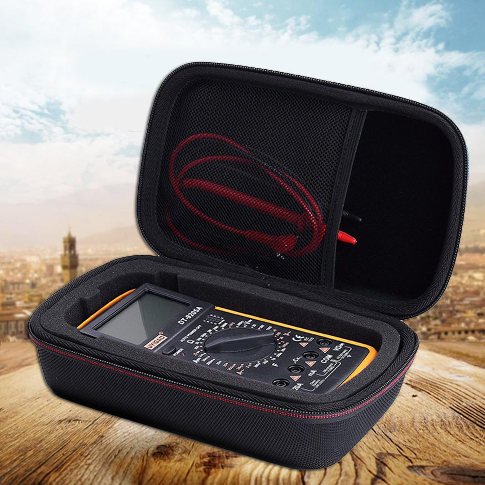 EVA PU Hard Travel Protective Carry Storage Bag Cover Case for Fluke F117C/ F17B+/ F115C Digital Multimeter