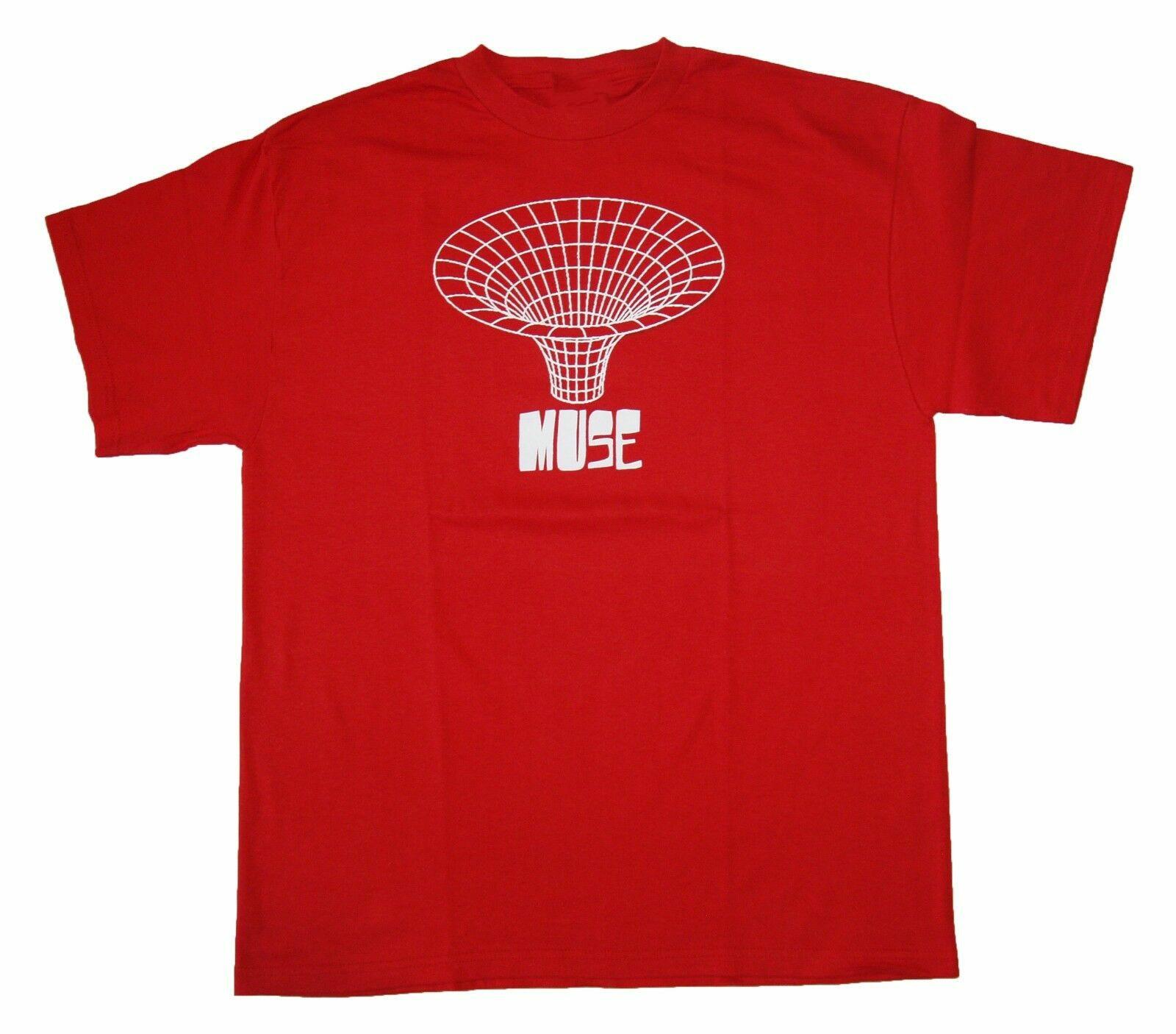 Muse-drawn em-camisa oficial t S-M-L-XL novo-camisa oficial t