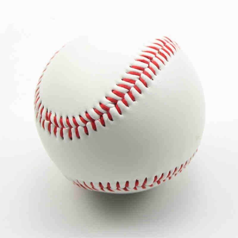 Pelota de Softball, entrenamiento, ejercicio, béisbol, bolas de béisbol hechas a mano, pelotas de béisbol de PU, Tenis Masculino