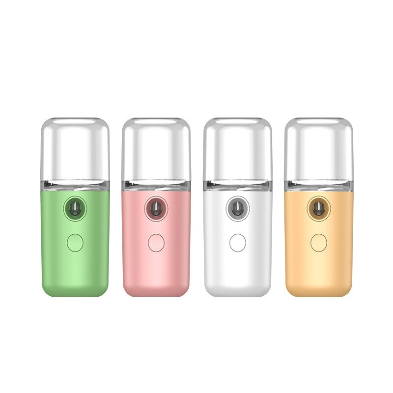 New Nano Steamer Hydrating Face Mist Spray Mister Portable Facial Ultrasonic Ozone Sprayers Skin Care Machine