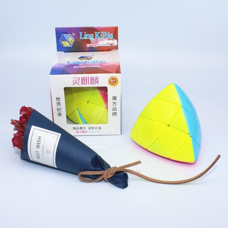 Yuxin ling kirin mastermorphix 3x3x3 cubo mágico velocidade do jogo profissional adulto crianças brinquedos educativos puzzle presente 3*3*3