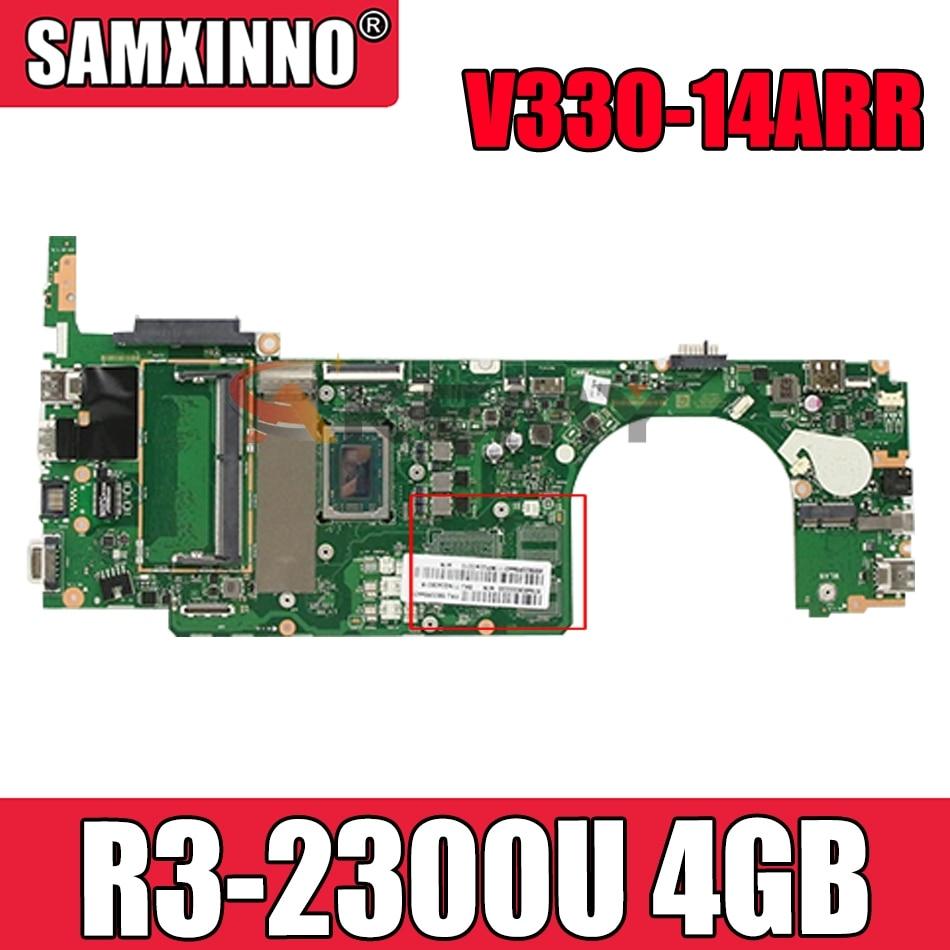 ???? MB LA-F485P ?????? ?????? V330-14ARR V330-15ARR ?????? ??????? 5B20R54431 ?? Ryzen R3-2300U ???? ???????? ???????? + 4GB RAM