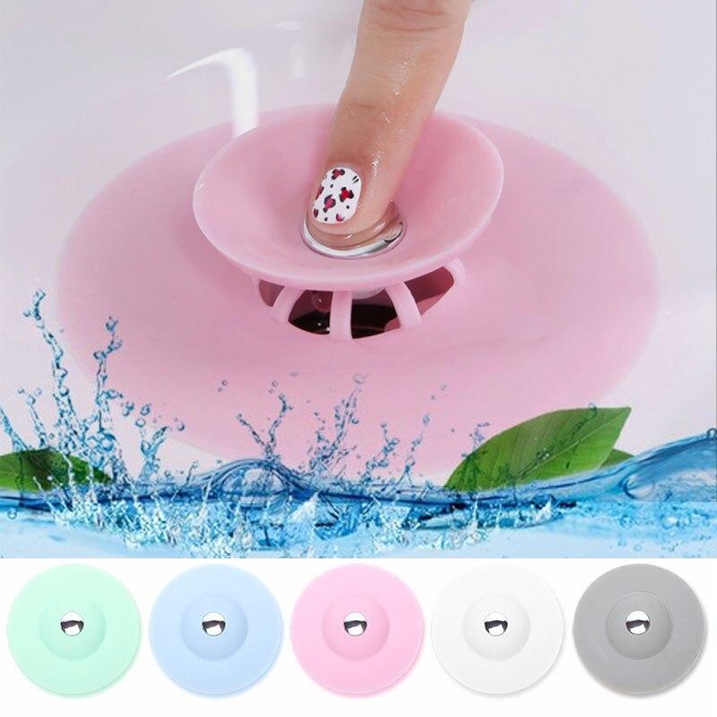 Cozinha de borracha banheira de banho pia dreno de chão plug cozinha lavanderia água rolha ferramenta lavanderia banheiro banheira dreno imprensa