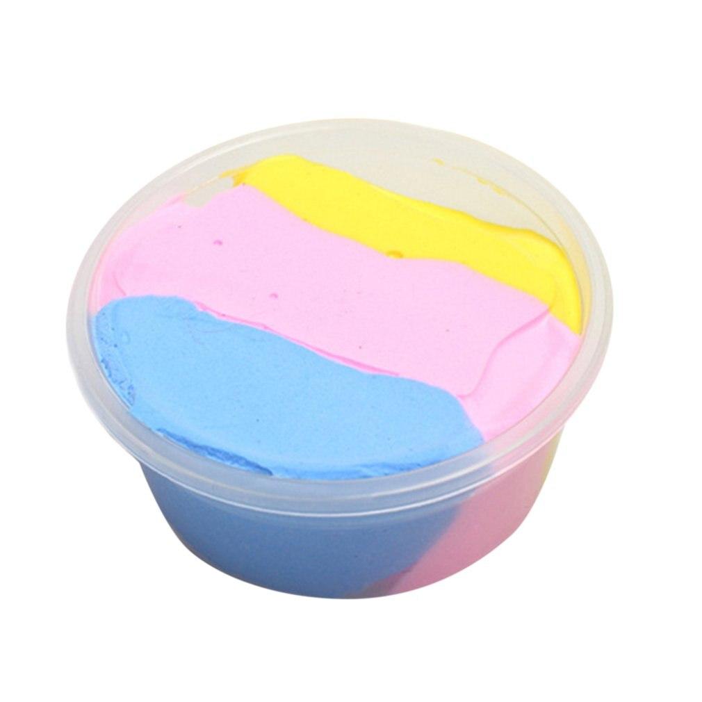 DIY Flauschigen Floam Schleim Duftenden Keine Borax Kinder Spielzeug Stress Relief Schlamm Spielzeug auf Toxischen Schleim für Kinder Erwachsene Hand trockner Teile
