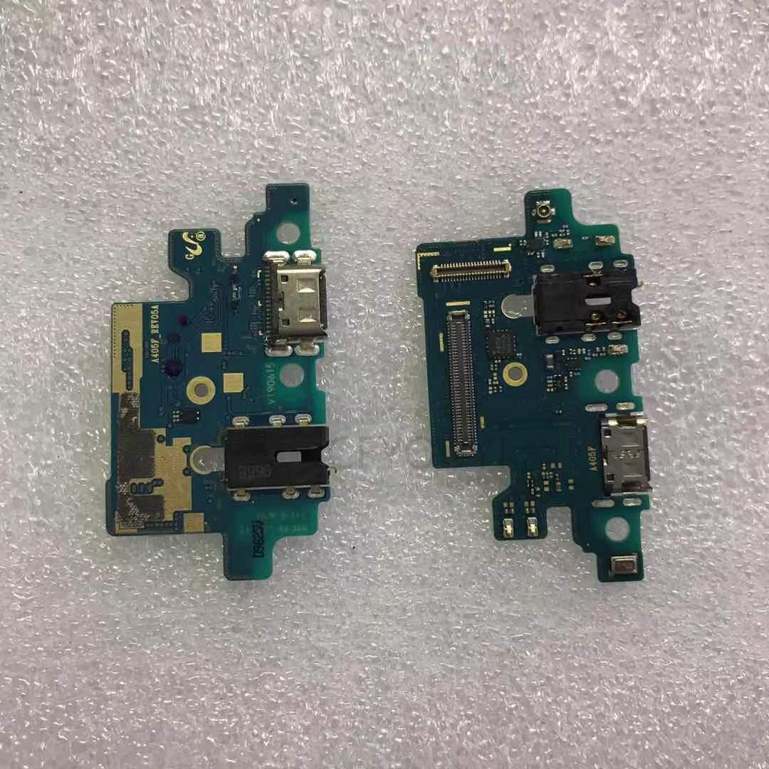 Original For Samsung Galaxy A40 A405F Dock Connector USB Charging Port Flex Cable USB Charger Plug F
