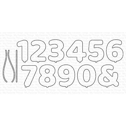 Troqueles de corte de Metal bombeado números Plantilla de corte decoración álbum de recortes molde artesanal para corte de papel plantillas para perforar con cuchillas die