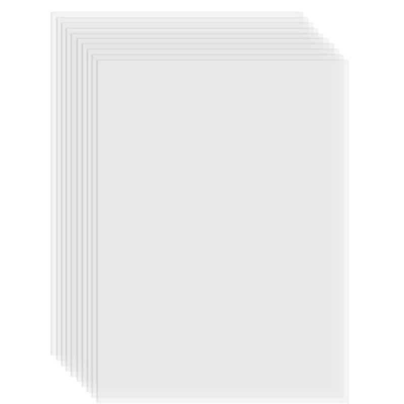 8 قطعة FEP فيلم بكرة شريط شفاف 280x200 متر سمك 0.1 مللي متر ، تستخدم ل طابعة الفوتون UV الراتنج ثلاثية الأبعاد