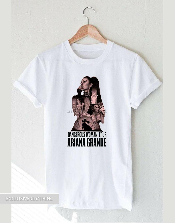 Mujer peligrosa Ariana Grande Tour camiseta vintage logo S-XXL algodón edulcorante