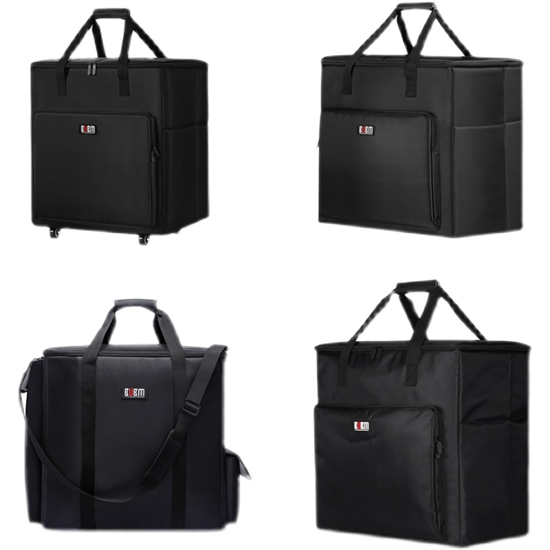 كمبيوتر ألعاب سطح المكتب ، حقيبة حمل ، تخزين السفر ، حقيبة المعالج الرئيسية وحقيبة الشاشة