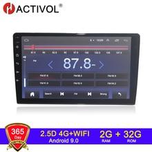 HACTIVOL 2G+32G Android 9.1 4G Car Radio for 9