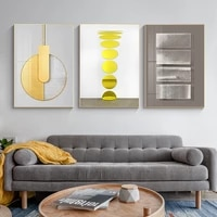 modern geometry abstract canvas painting interior decoration nordic poster and print wall art picture living bed room home decor