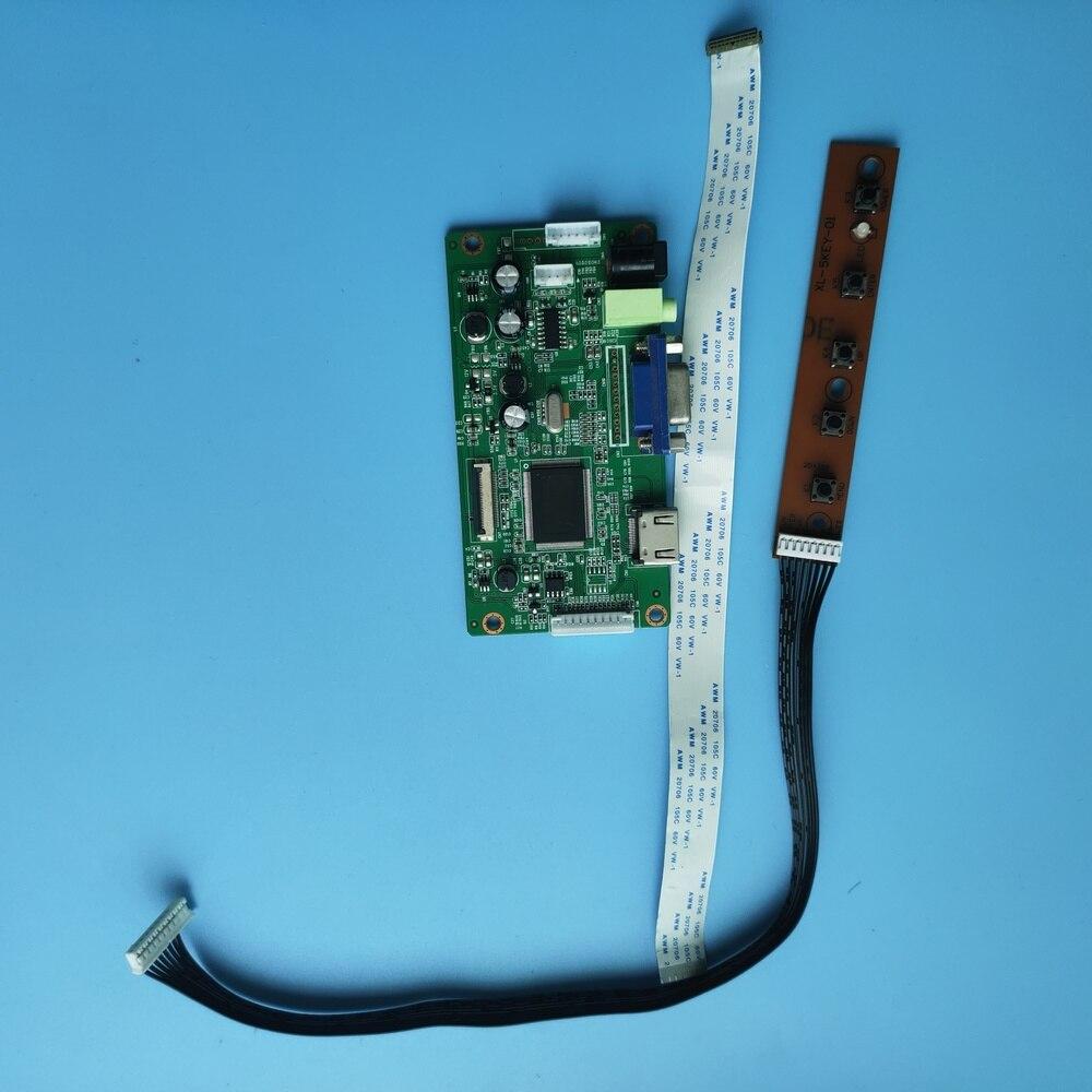 ل B140XTN02.9 شاشة رصد عرض عدة VGA تحكم مجلس EDP LED LCD سائق لتقوم بها بنفسك 30Pin 1366 × 768 14