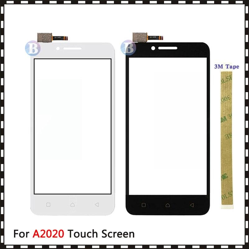 """Замена высокого качества 5,0 """"для Lenovo A2020 Vibe C A2020a40 сенсорный экран дигитайзер Датчик внешняя стеклянная линза Панель"""