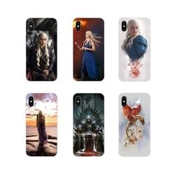 Caso TPU Transparente Para Samsung Galaxy J1 J2 J3 J4 J5 J6 J7 J8 Plus 2018 Prime 2015 2016 2017 Jogos de Tronos Targaryen Cartaz