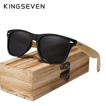 Bamboo Sunglasses Men and Women All In KINGSEVEN DESIGN Sun Glasses Polarized Vintage Travel Eyewear