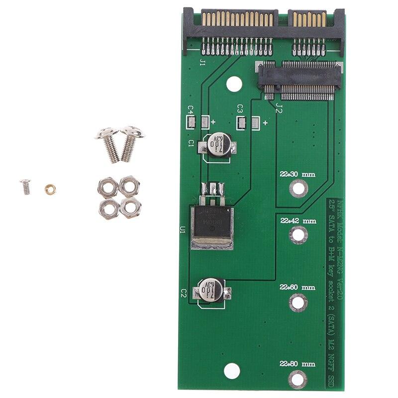 Adaptador Ngff ( M2 ) ssd de 2,5 pulgadas a sata, M2 ngff ssd a sata3, tarjeta de conversión