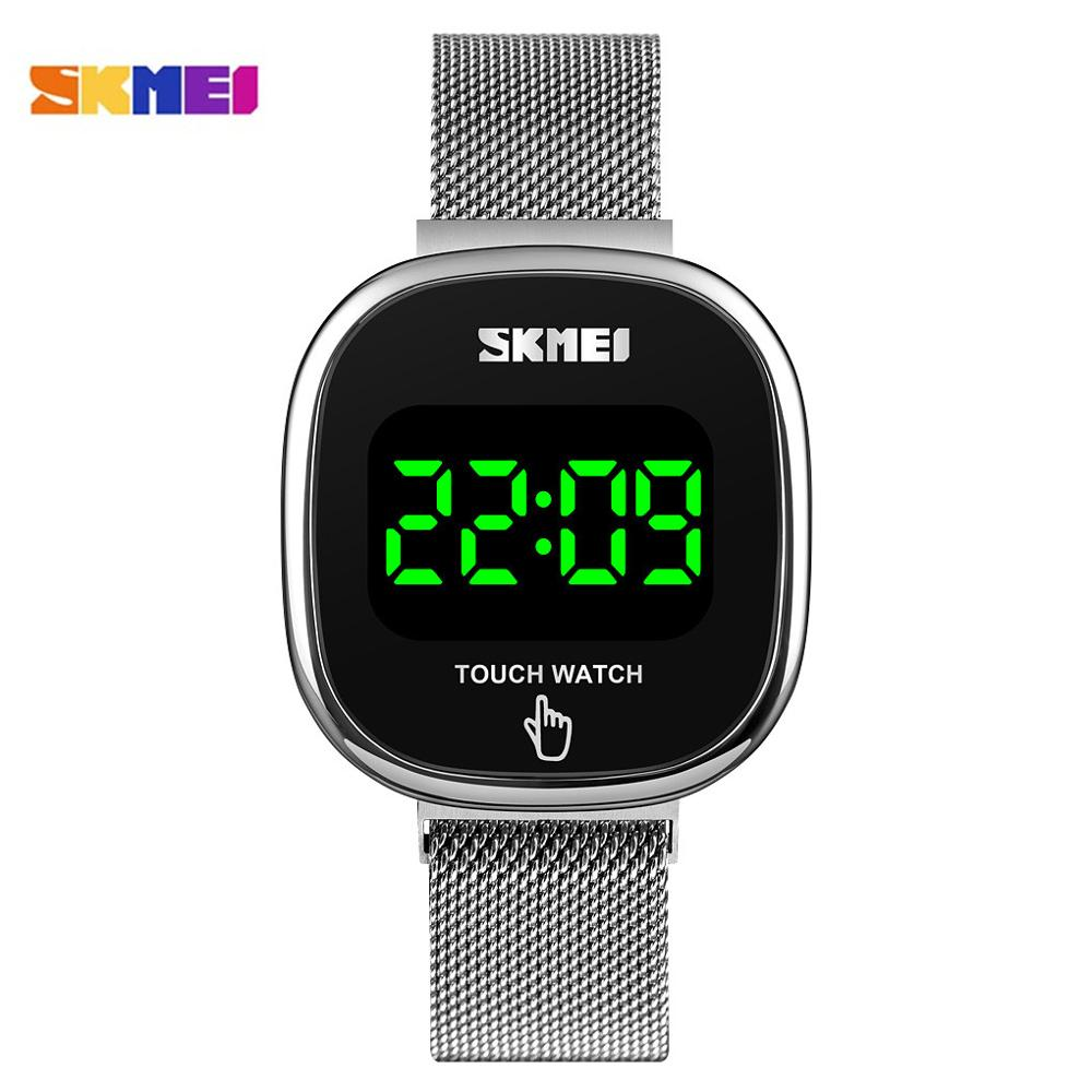 SKMEI Digital Wristwatches Men's Watch LED Touch Screen Electronic Male  Waterproof Clock Relogio Masculino Japan movement Watch
