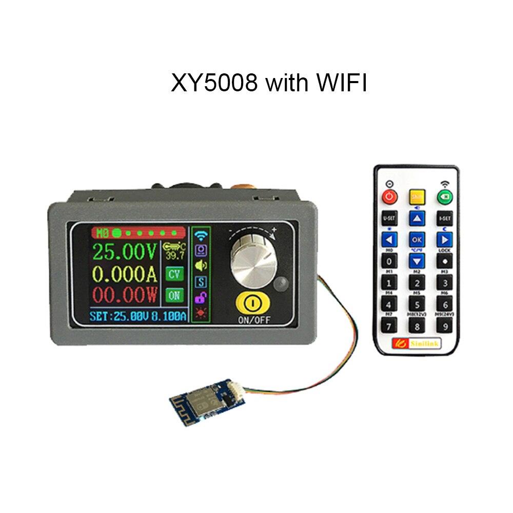 XY5008 باك محول DC DC CC CV 0-50V 8A 400W الطاقة وحدة قابل للتعديل تنظيم مختبر امدادات الطاقة متغير WIFF التطبيق