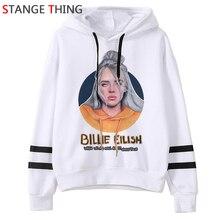 Billie Eilish Bad Guy Harajuku Funny Cartoon Hoodies Men/women Graphic Fashion Hip Hop Sweatshirt Streetwear Hoody Male/female